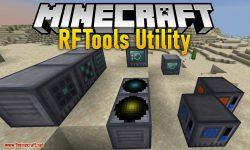 RFTools Utility mod for minecraft logo