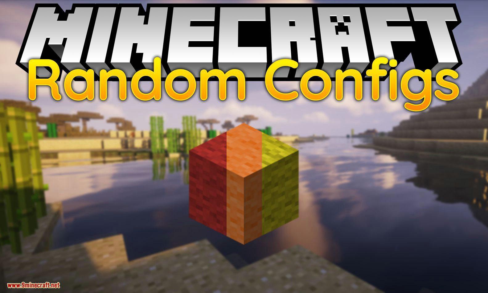 Random Configs mod for minecraft logo