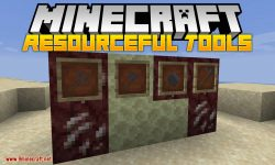 Resourceful Tools mod for minecraft logo