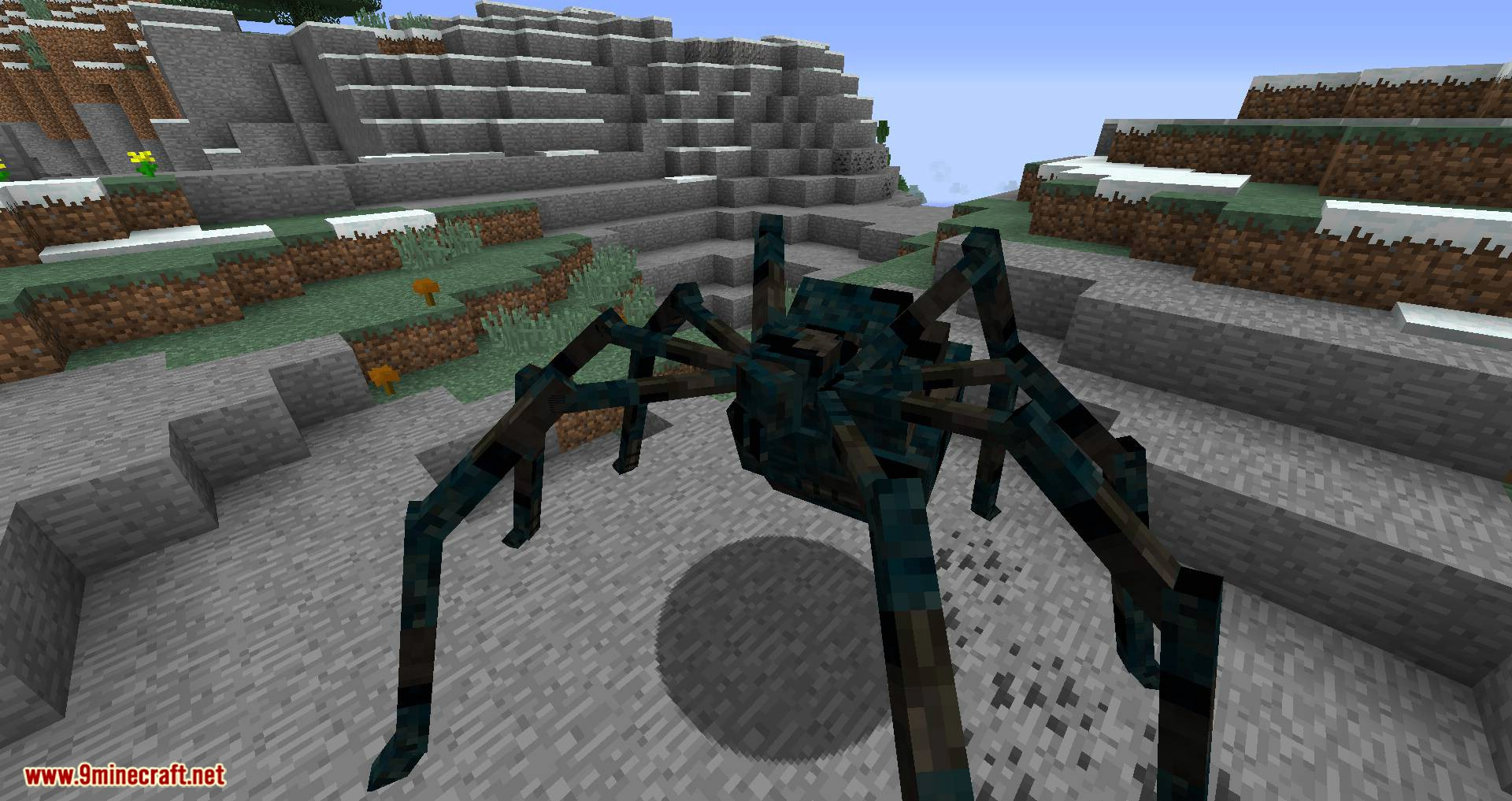 Scape and Run Parasites mod for minecraft 02