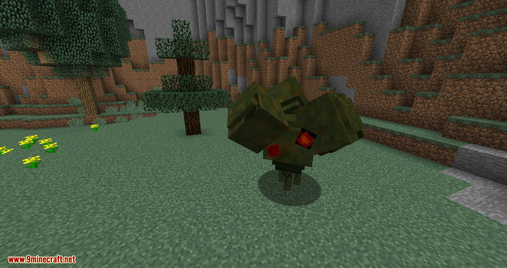 Scape and Run Parasites mod for minecraft 04