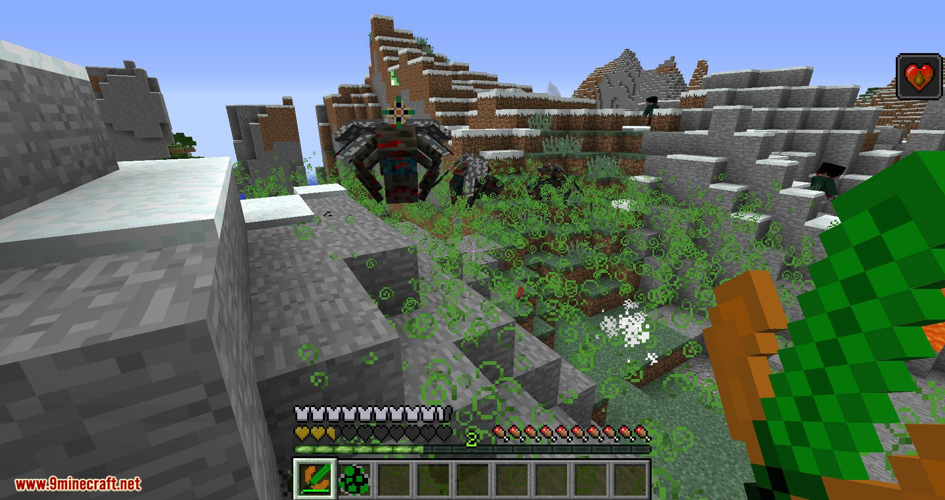 Scape and Run Parasites mod for minecraft 09