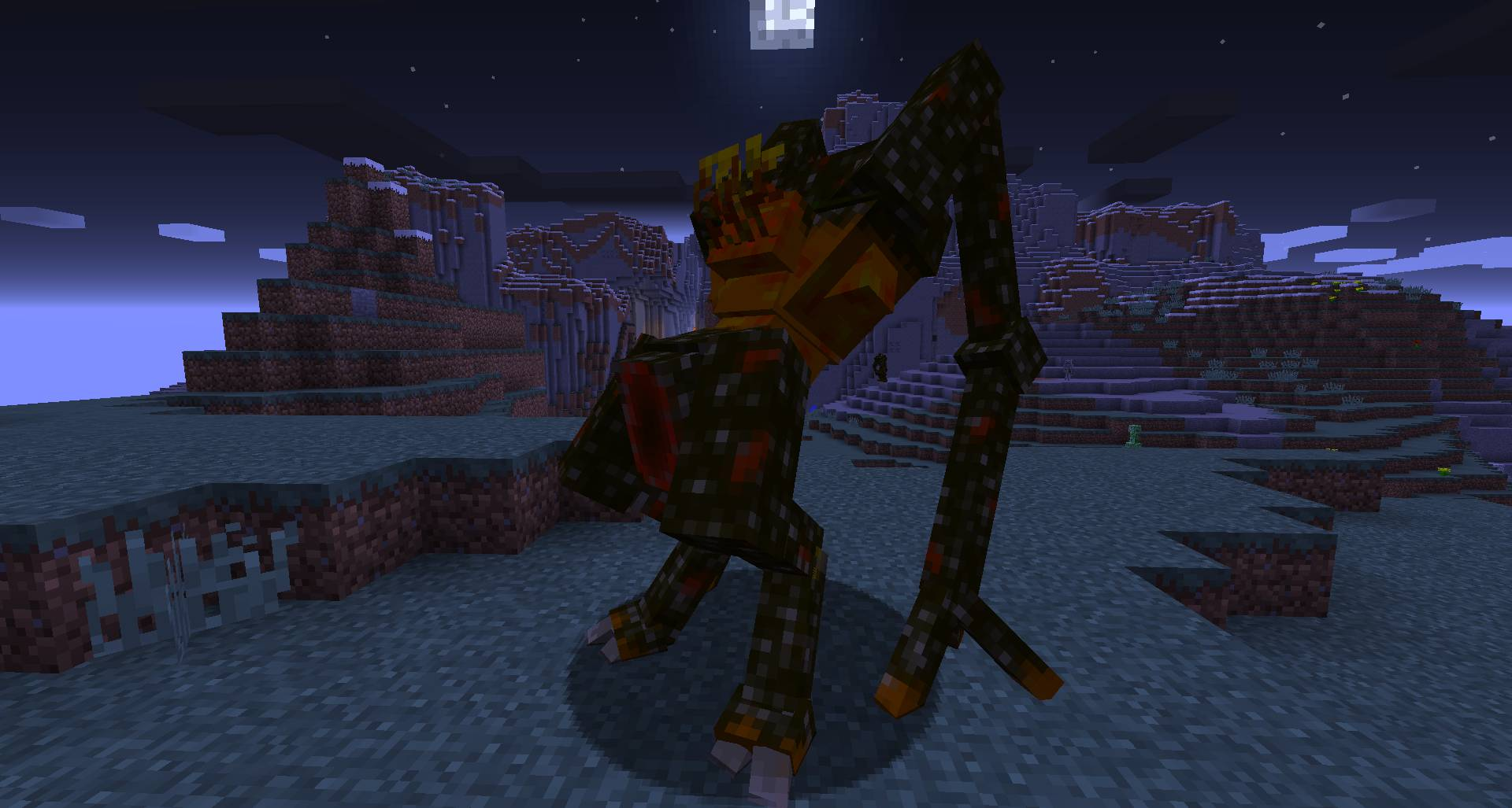 Scape and Run Parasites mod for minecraft 21