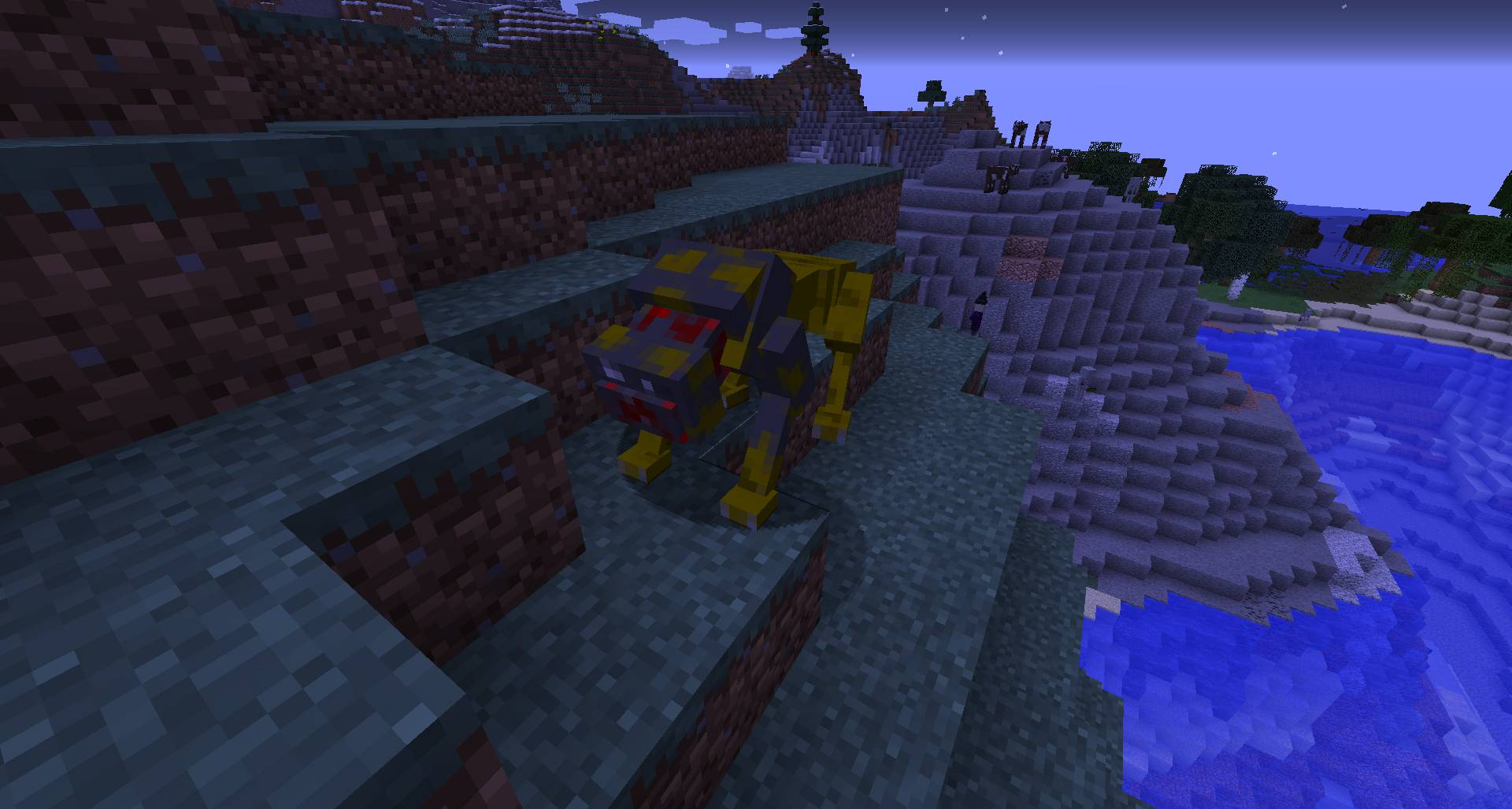 Scape and Run Parasites mod for minecraft 24