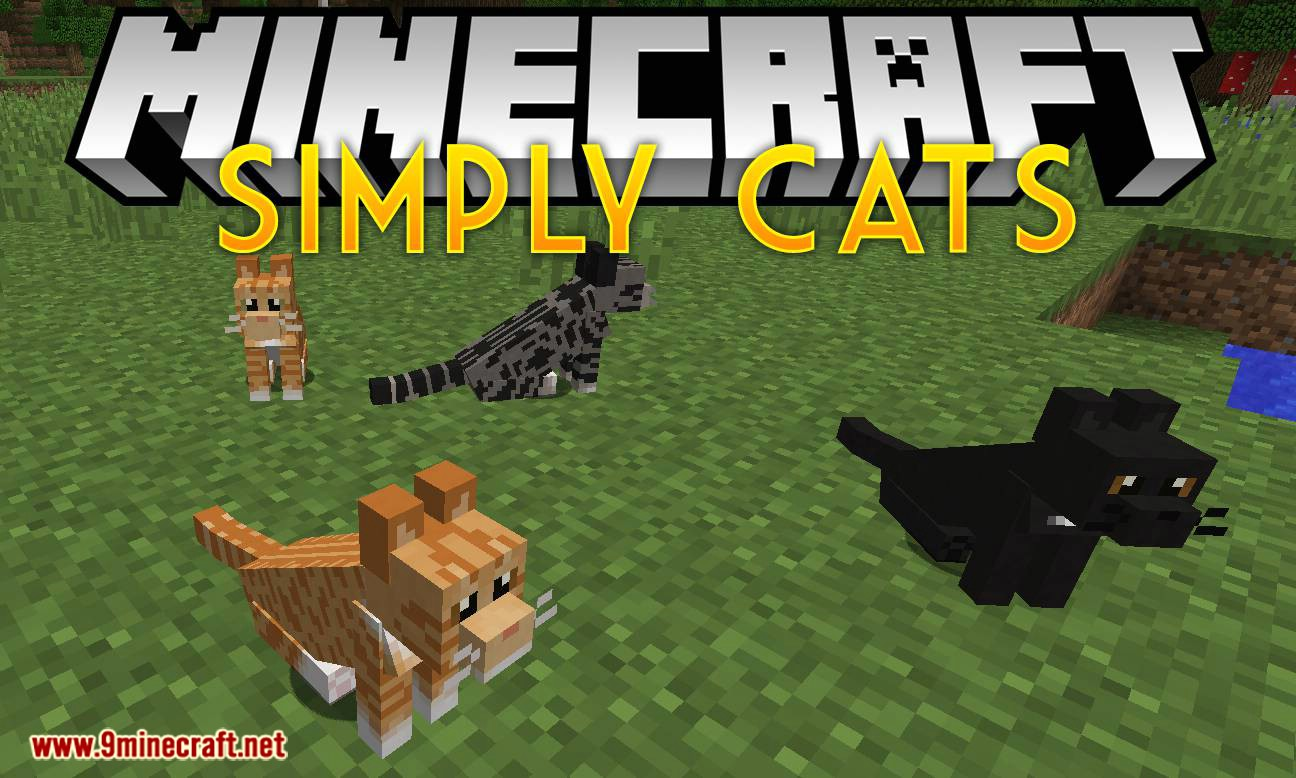 Simply Cats mod for minecraft logo