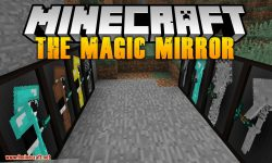 The Magic Mirror mod for minecraft logo