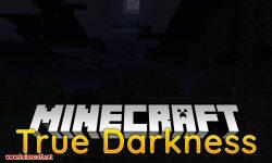 True Darkness mod for minecraft logo