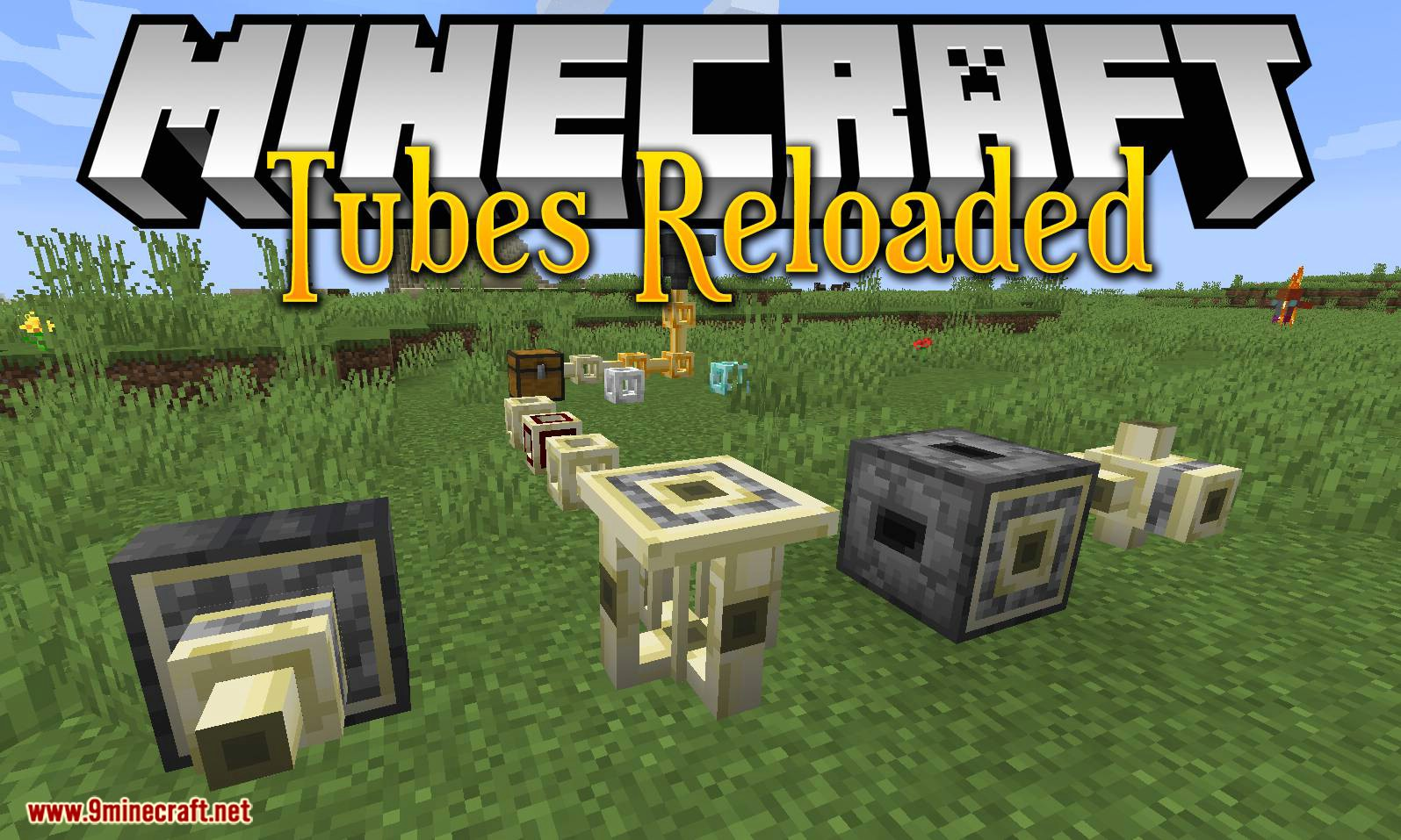 Tubes Reloaded mod for minecraft logo