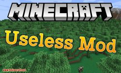 Useless Mod for minecraft logo