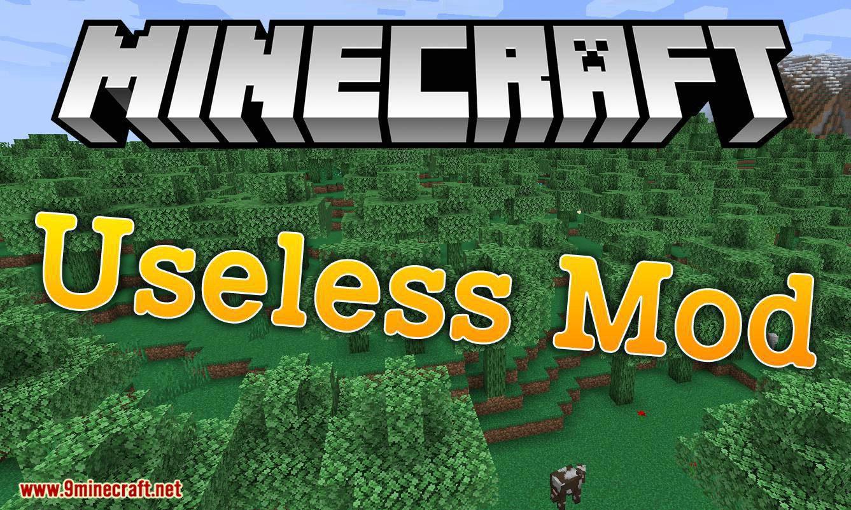 Useless Mod for minecraft logo
