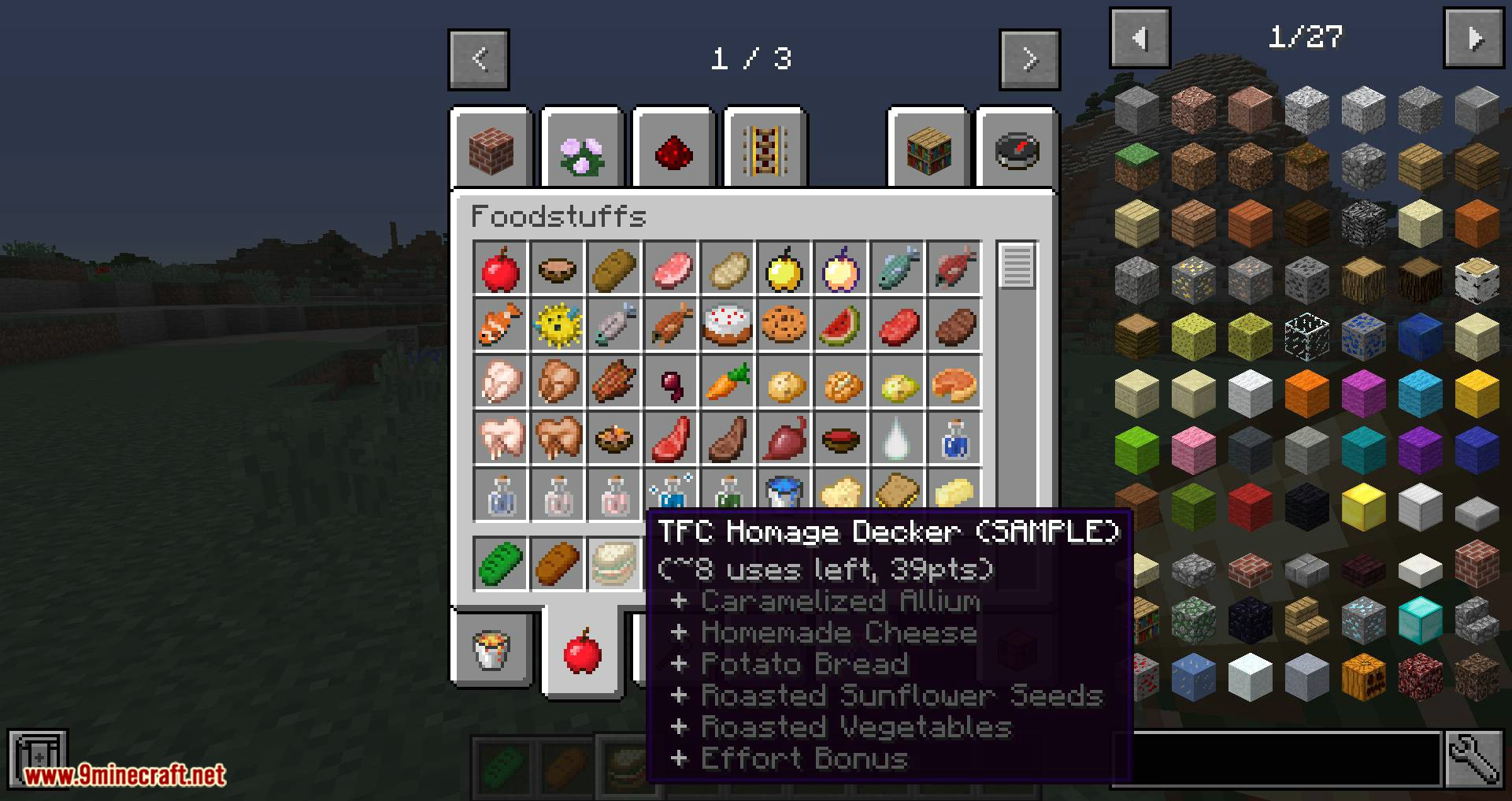 Vanilla Food Pantry Mod for minecraft 05