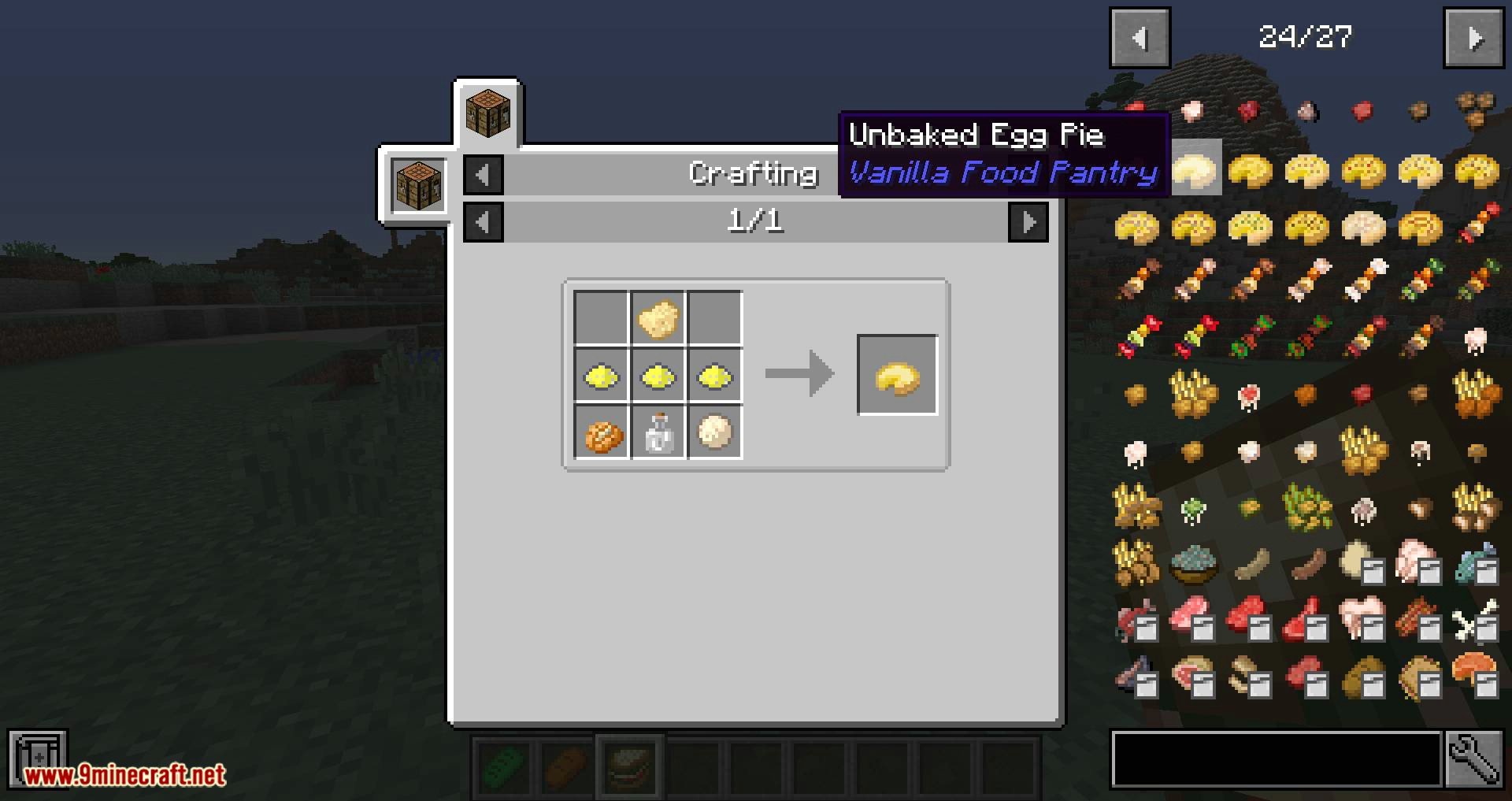 Vanilla Food Pantry Mod for minecraft 12