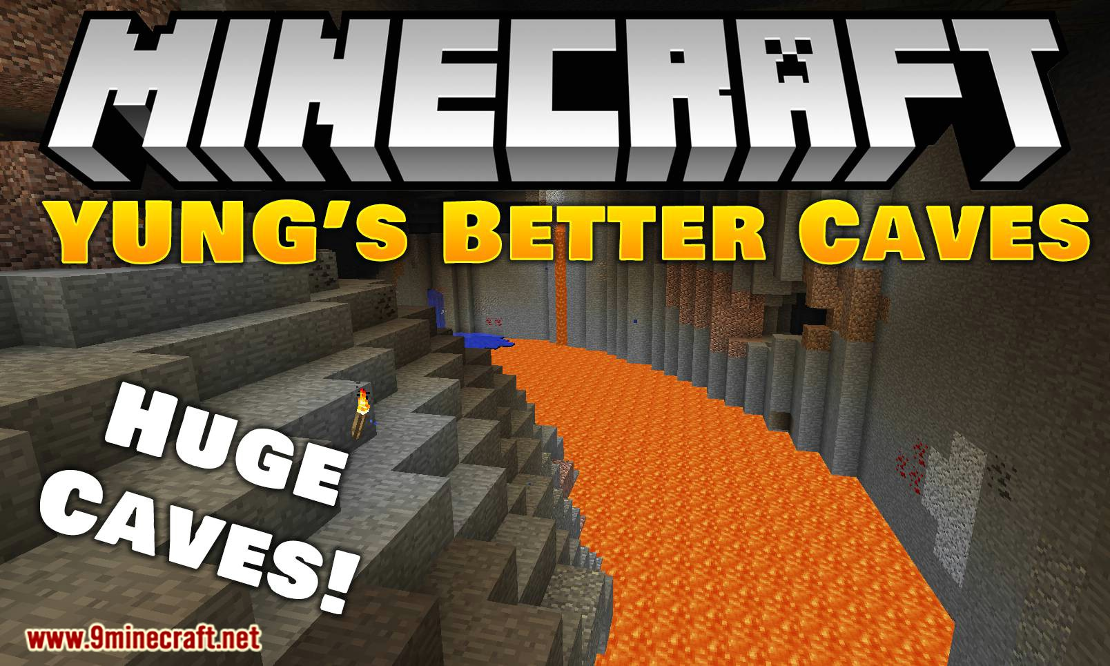 YUNG_s Better Caves mod for minecraft logo
