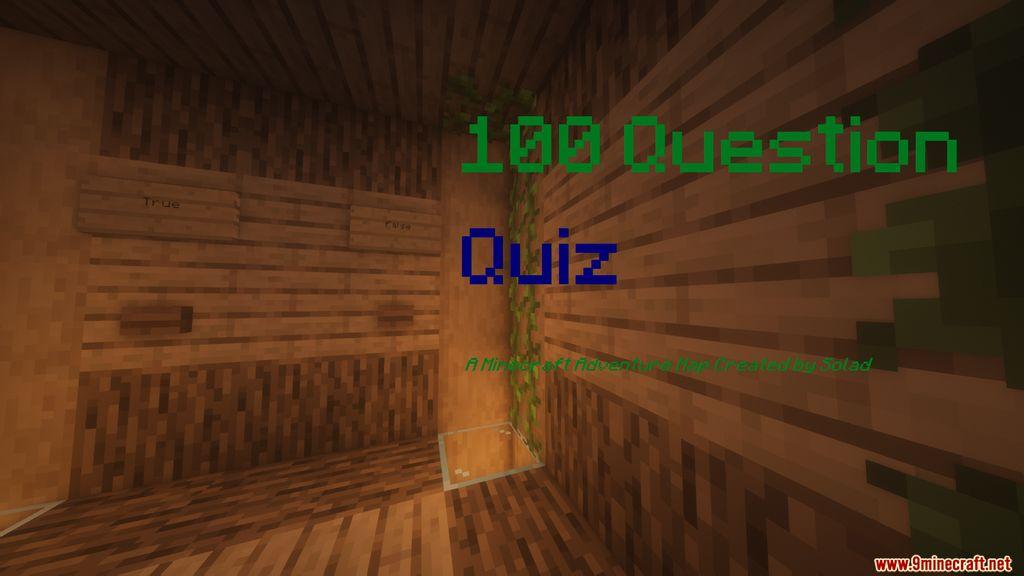100 Question Quiz Map Thumbnail