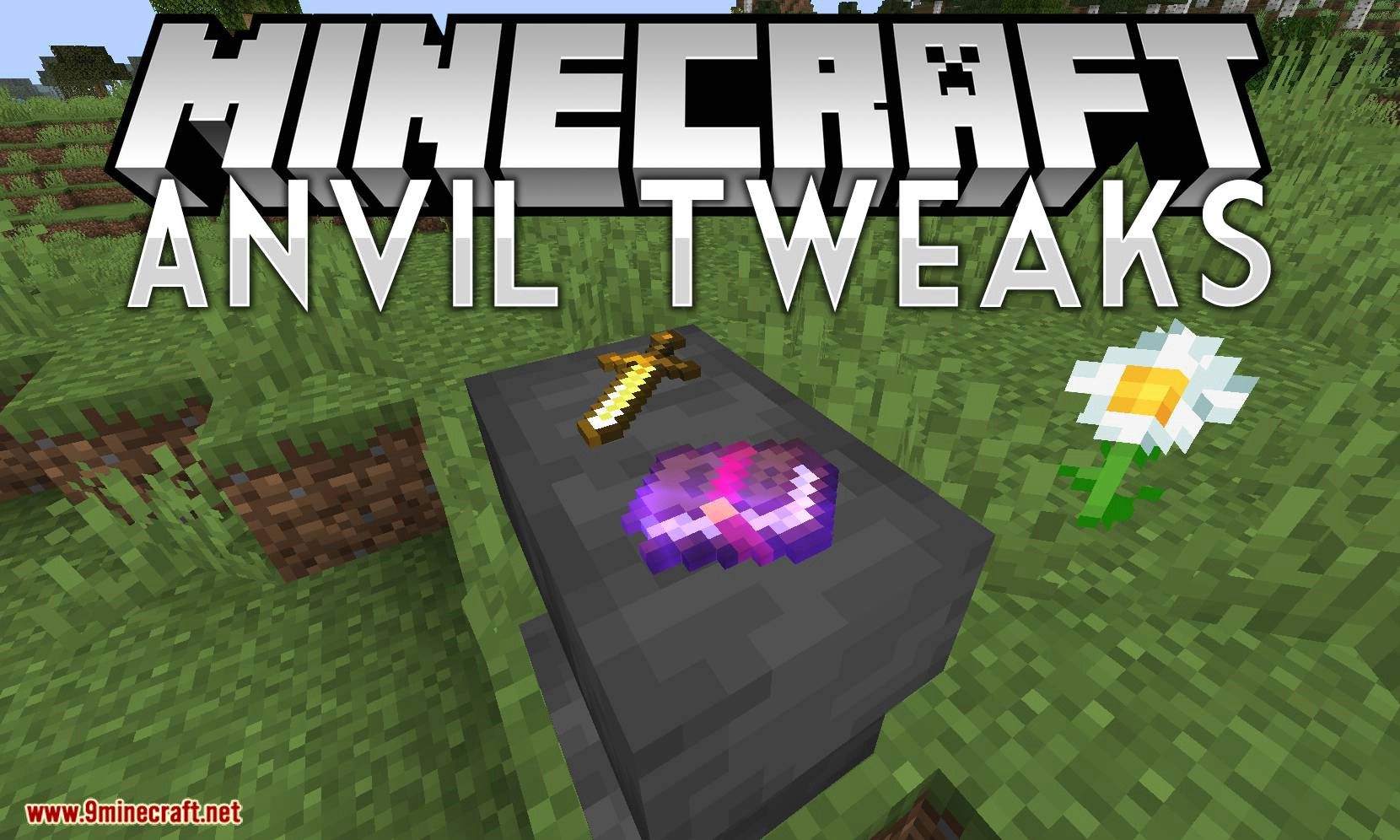 Anvil Tweaks mod for minecraft logo