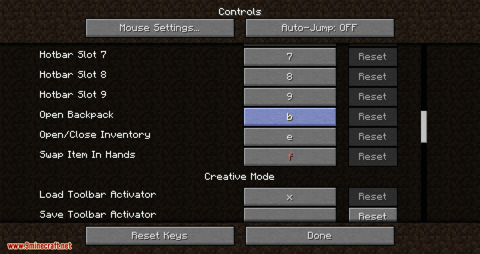 Backpacked mod for minecraft 07