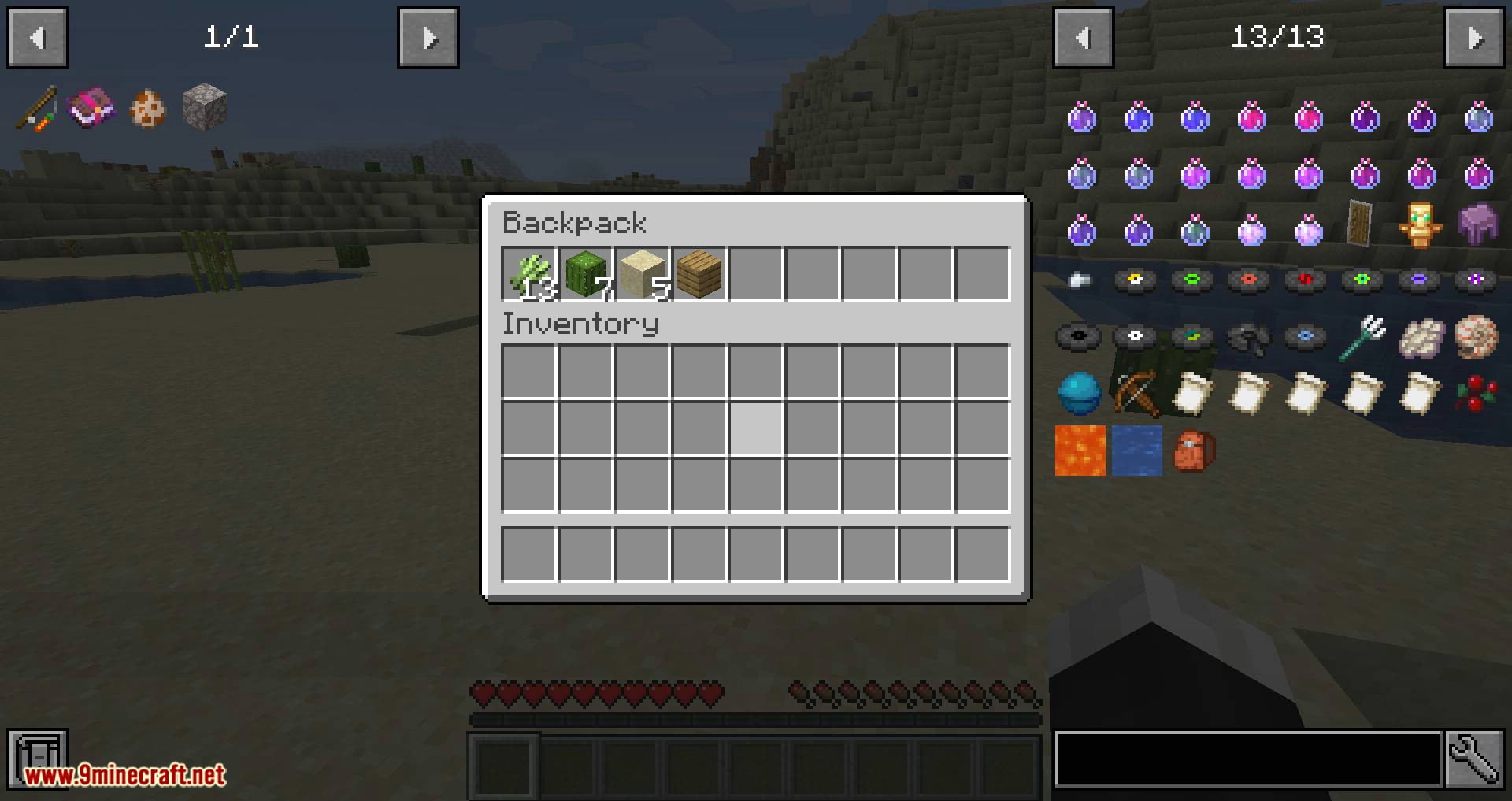 Backpacked mod for minecraft 11