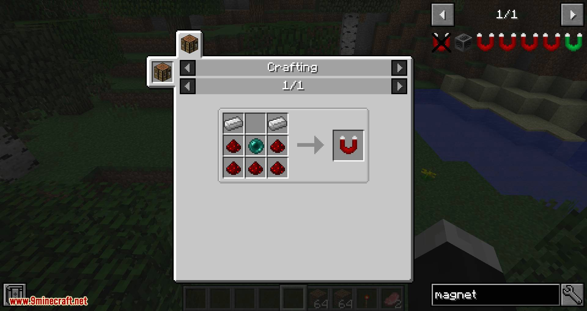 Better Magnets mod for minecraft 08