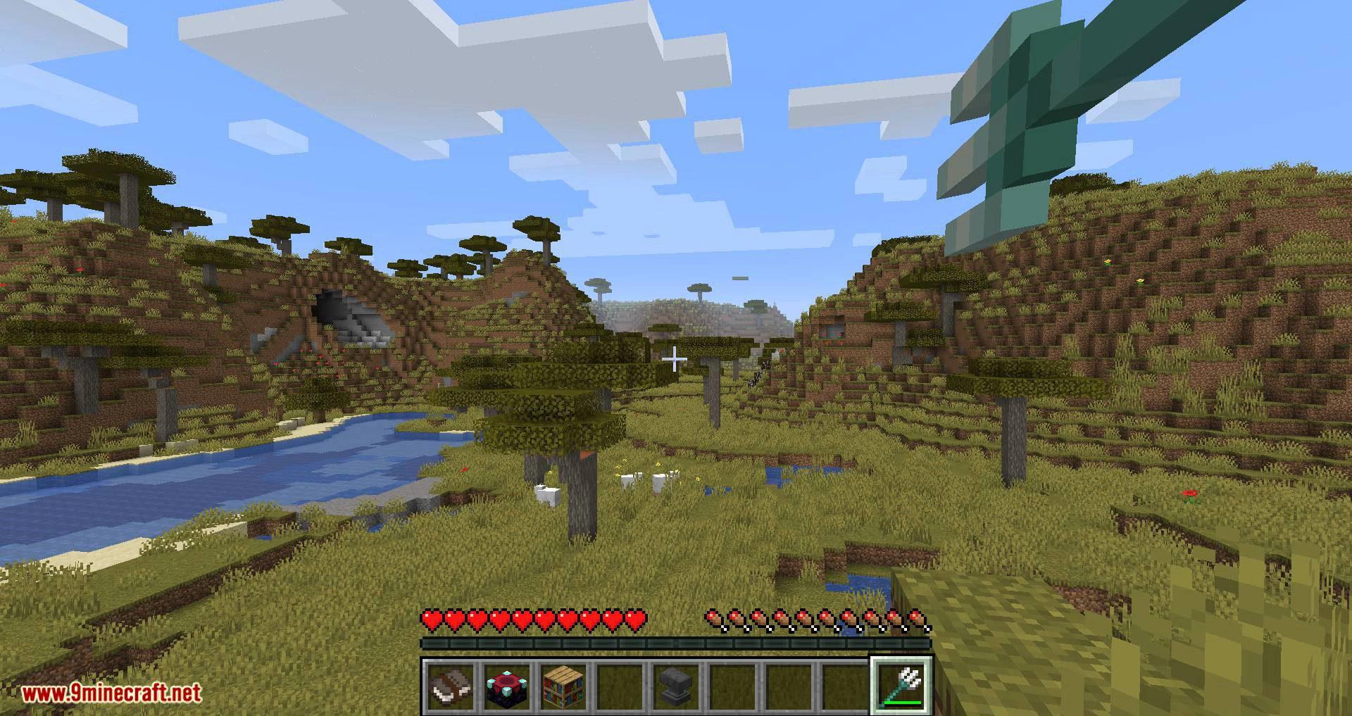 Better Trident Return mod for minecraft 03