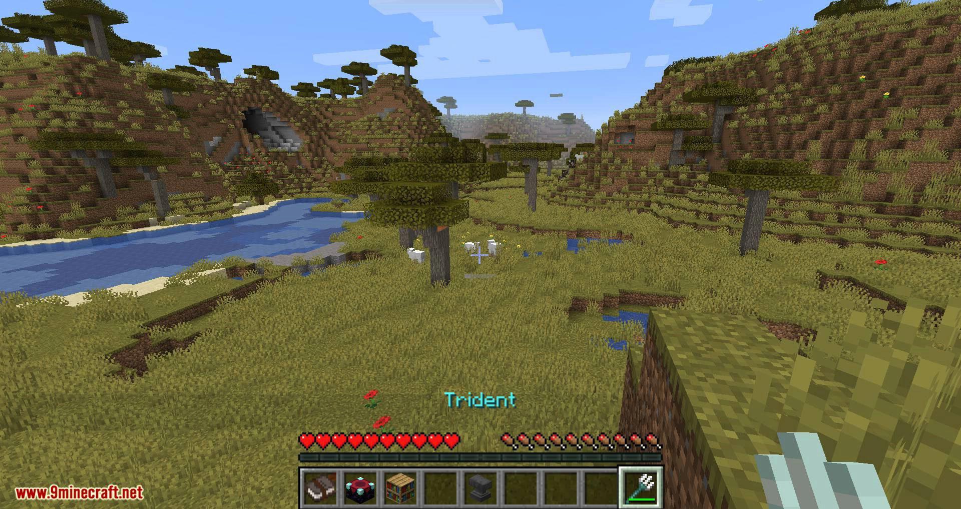 Better Trident Return mod for minecraft 05