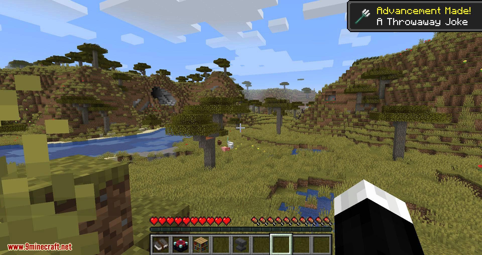 Better Trident Return mod for minecraft 07
