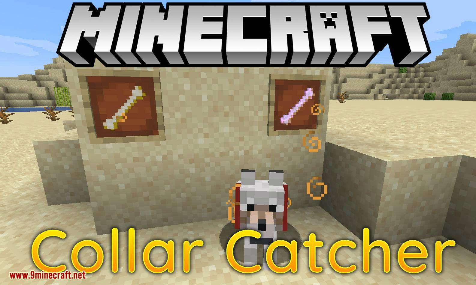 Collar Catcher mod for minecraft logo