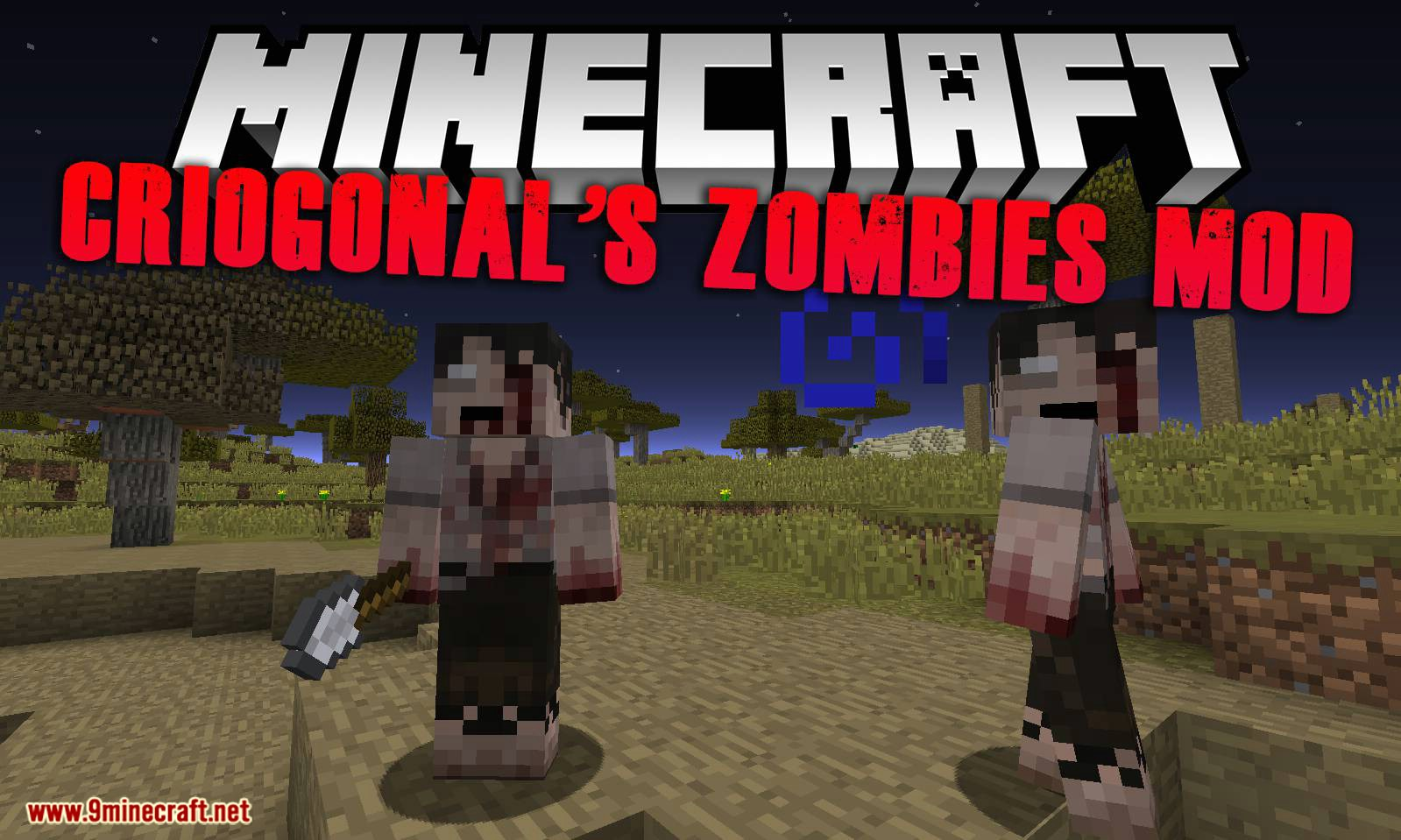 Criogonal_s Zombies Mod for minecraft logo