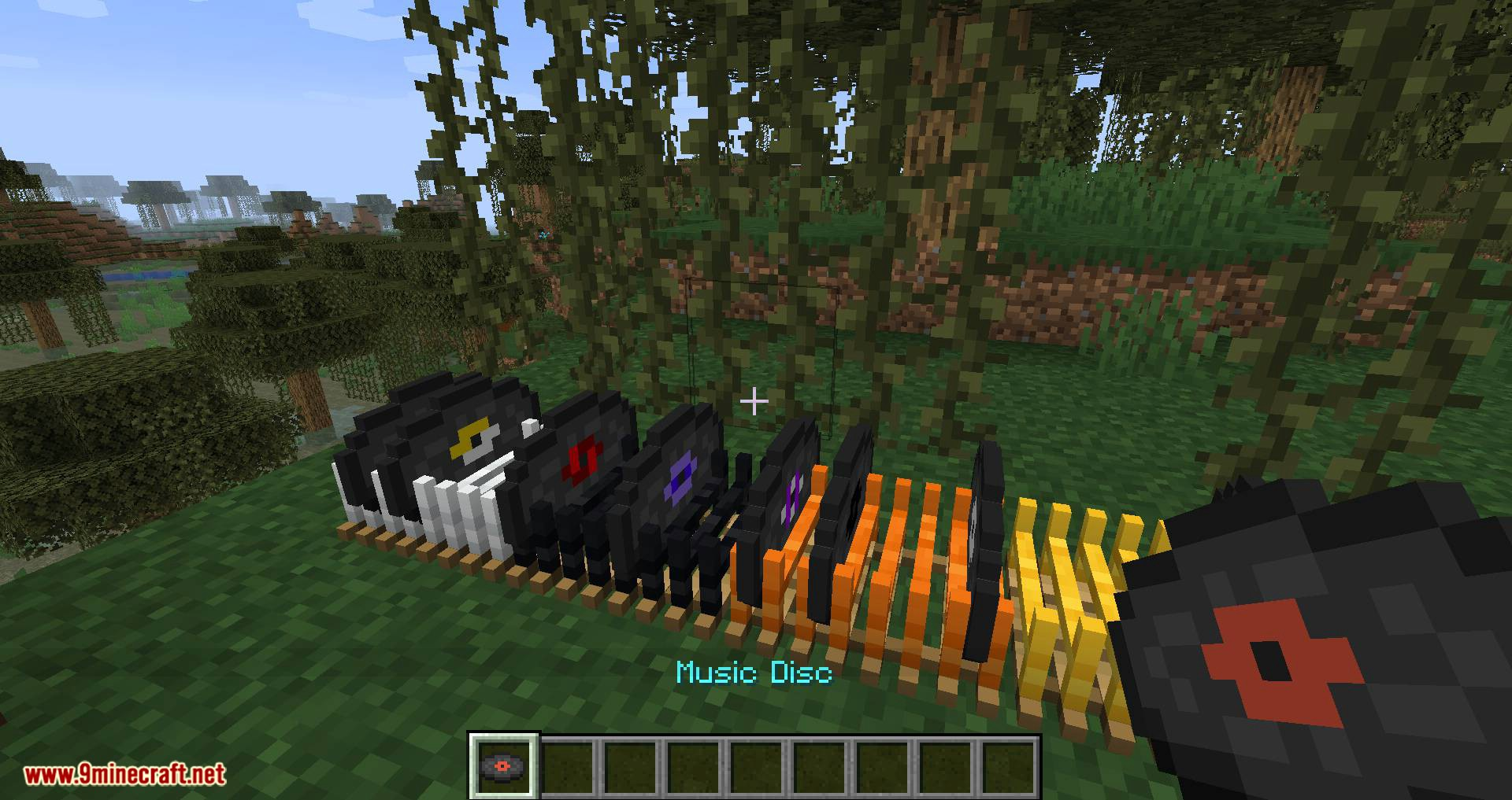 Disc Holder mod for minecraft 09
