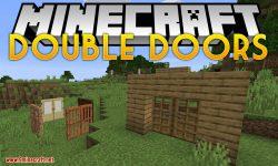 Double Doors mod for minecraft logo