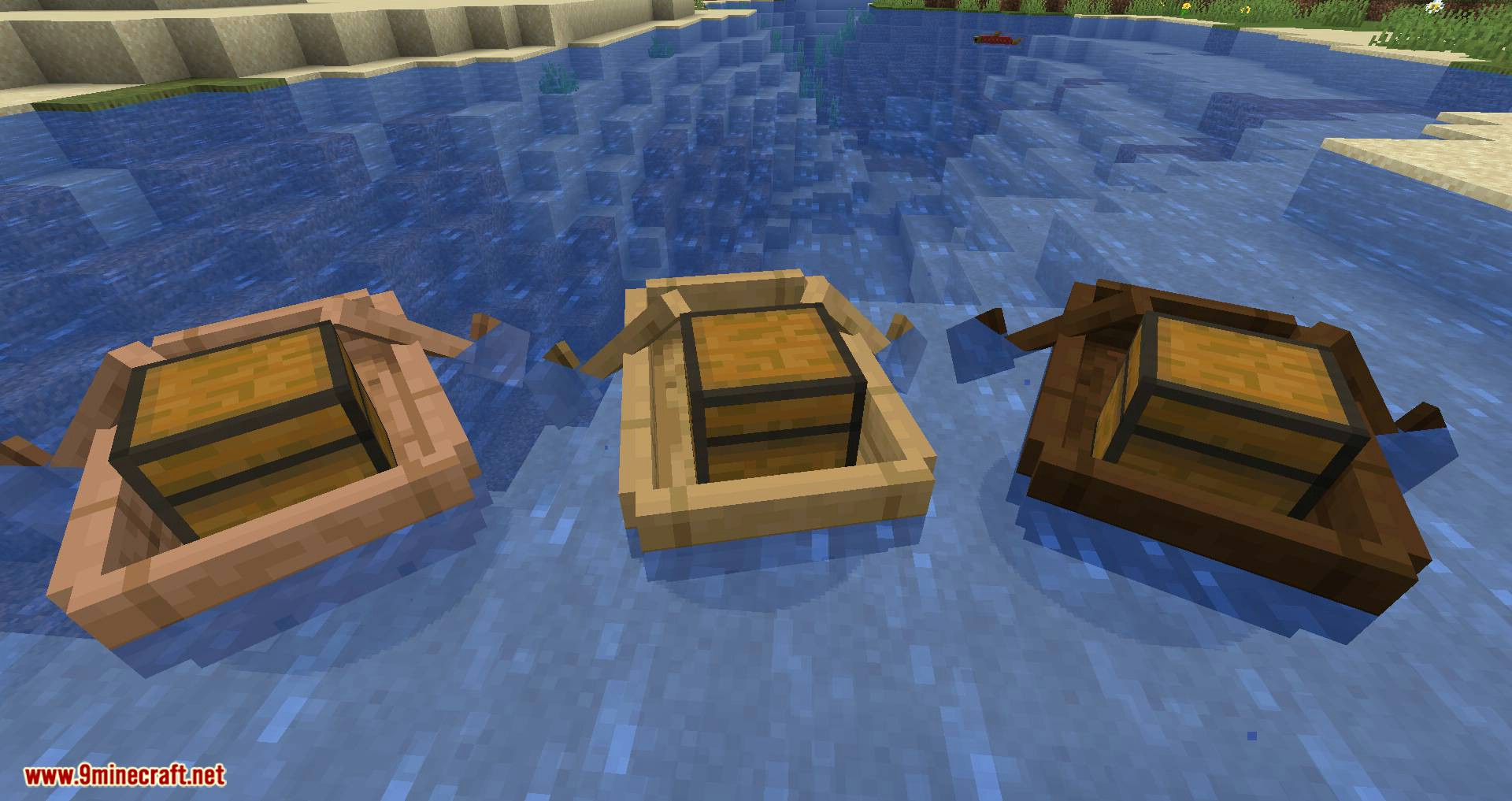 Extra Boats mod for minecraft 04