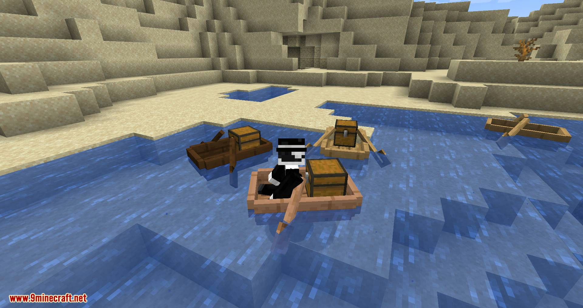 Extra Boats mod for minecraft 05