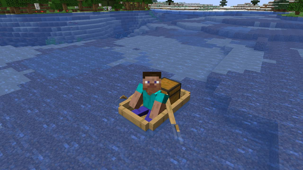 Extra Boats mod for minecraft 21