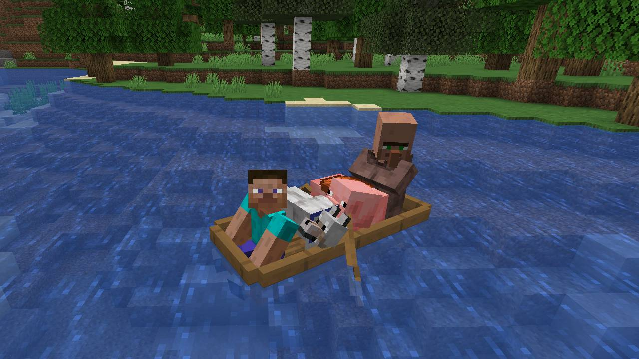 Extra Boats mod for minecraft 25