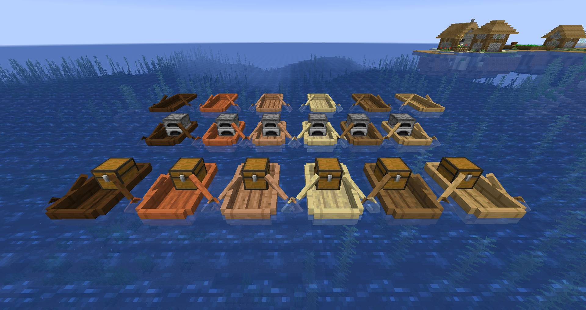 Extra Boats mod for minecraft 28