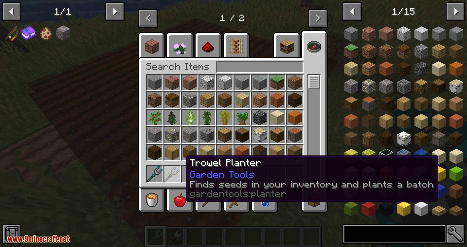 Gardening Tools mod for minecraft 05