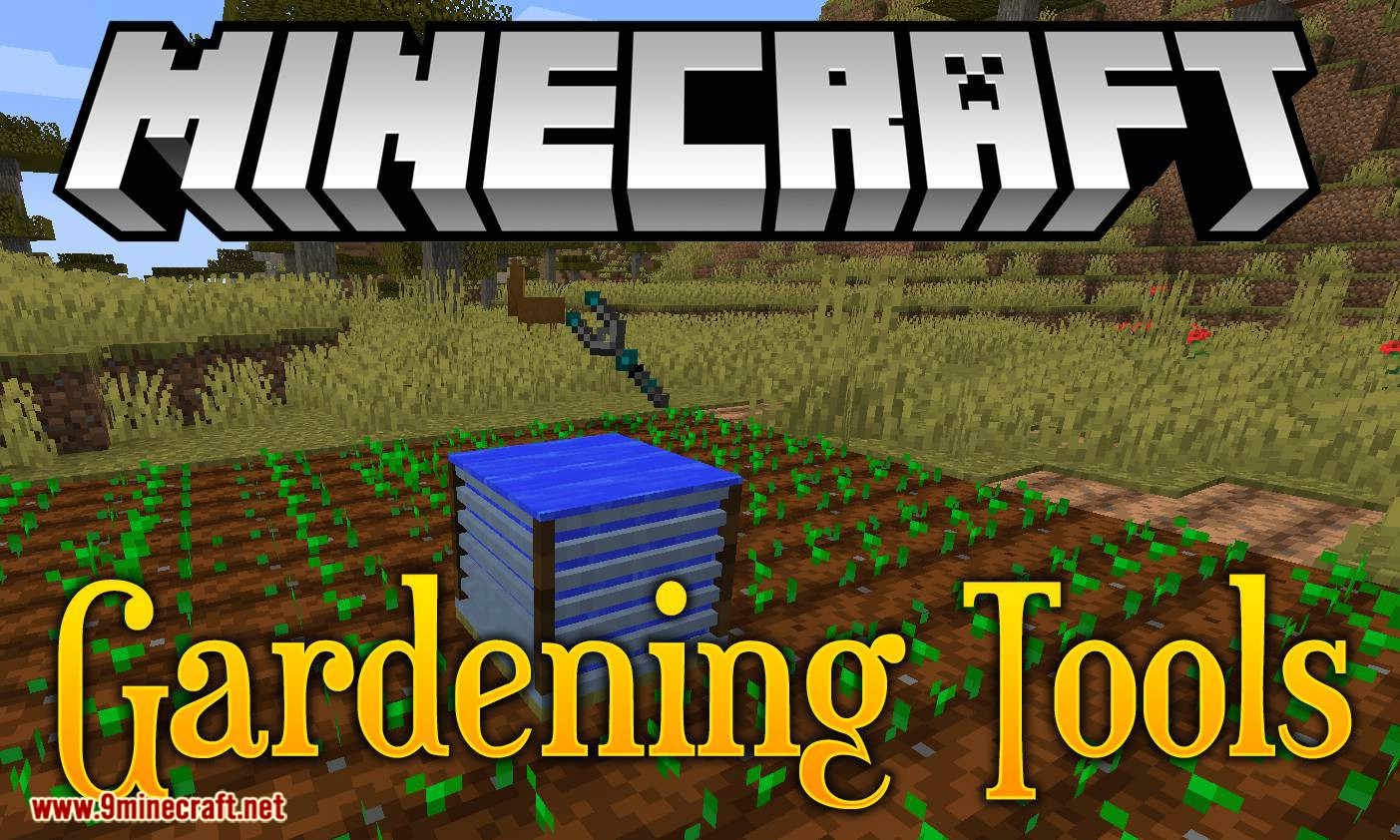 Gardening Tools mod for minecraft logo