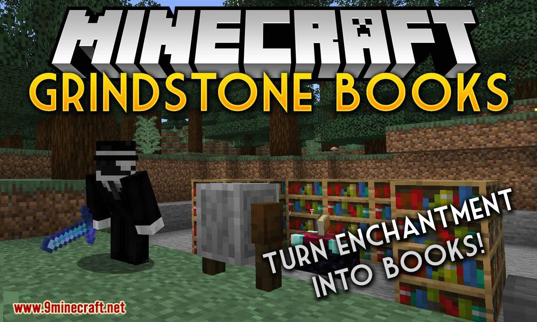 Grindstone Books mod for minecraft logo