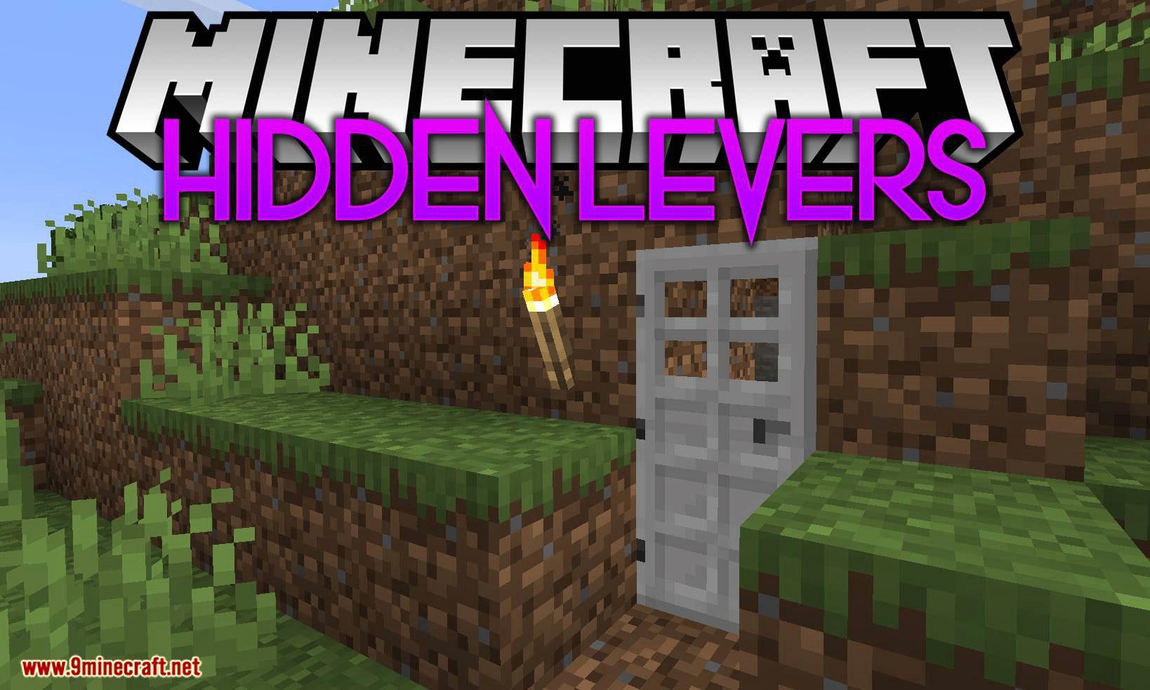 Hidden Levers mod for minecraft logo