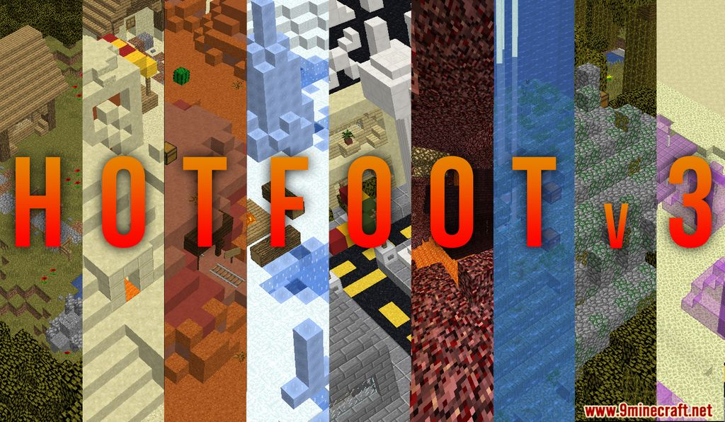 Hot Foot Map Thumbnail
