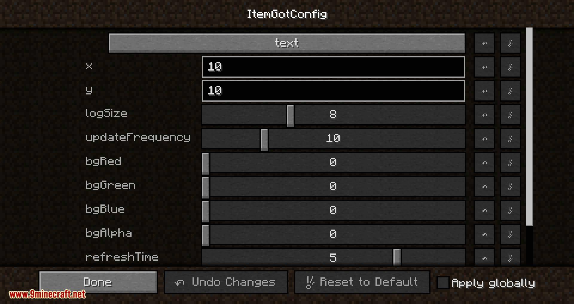 Item Got mod for minecraft 02