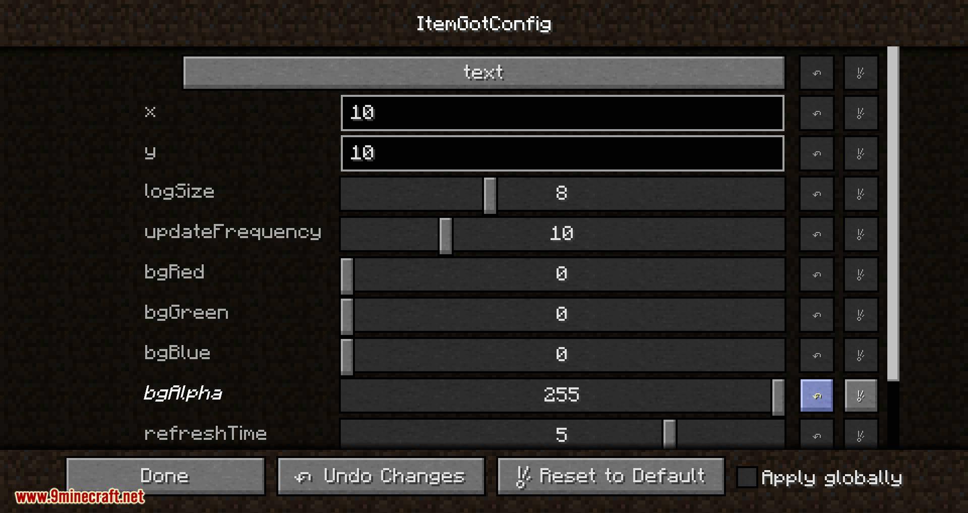 Item Got mod for minecraft 04