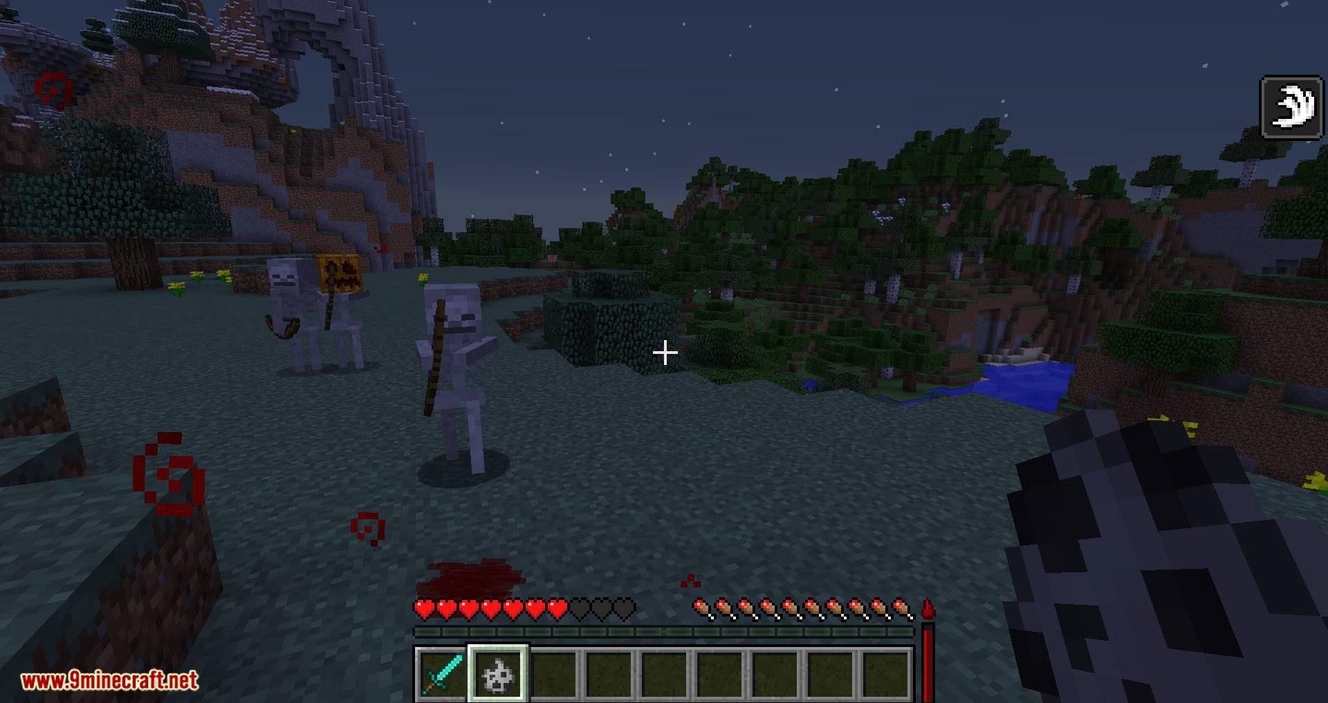 Lightweight Blood Mechanic mod for minecraft 08