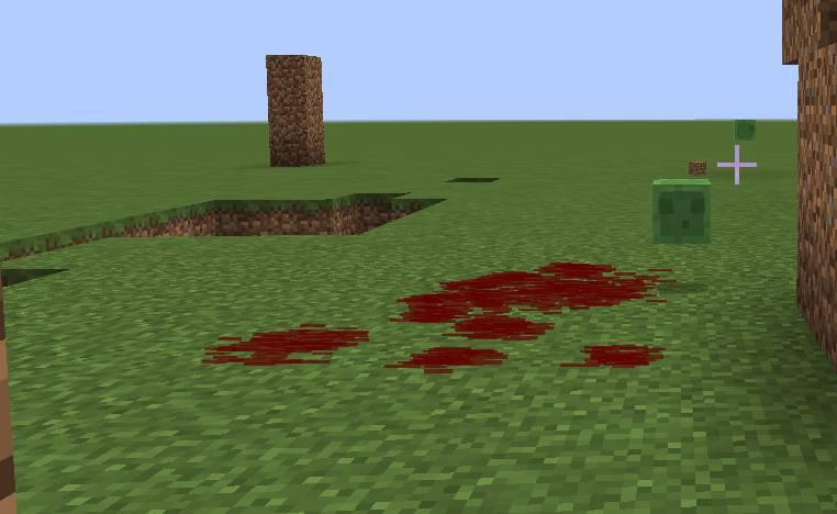 Lightweight Blood Mechanic mod for minecraft 26