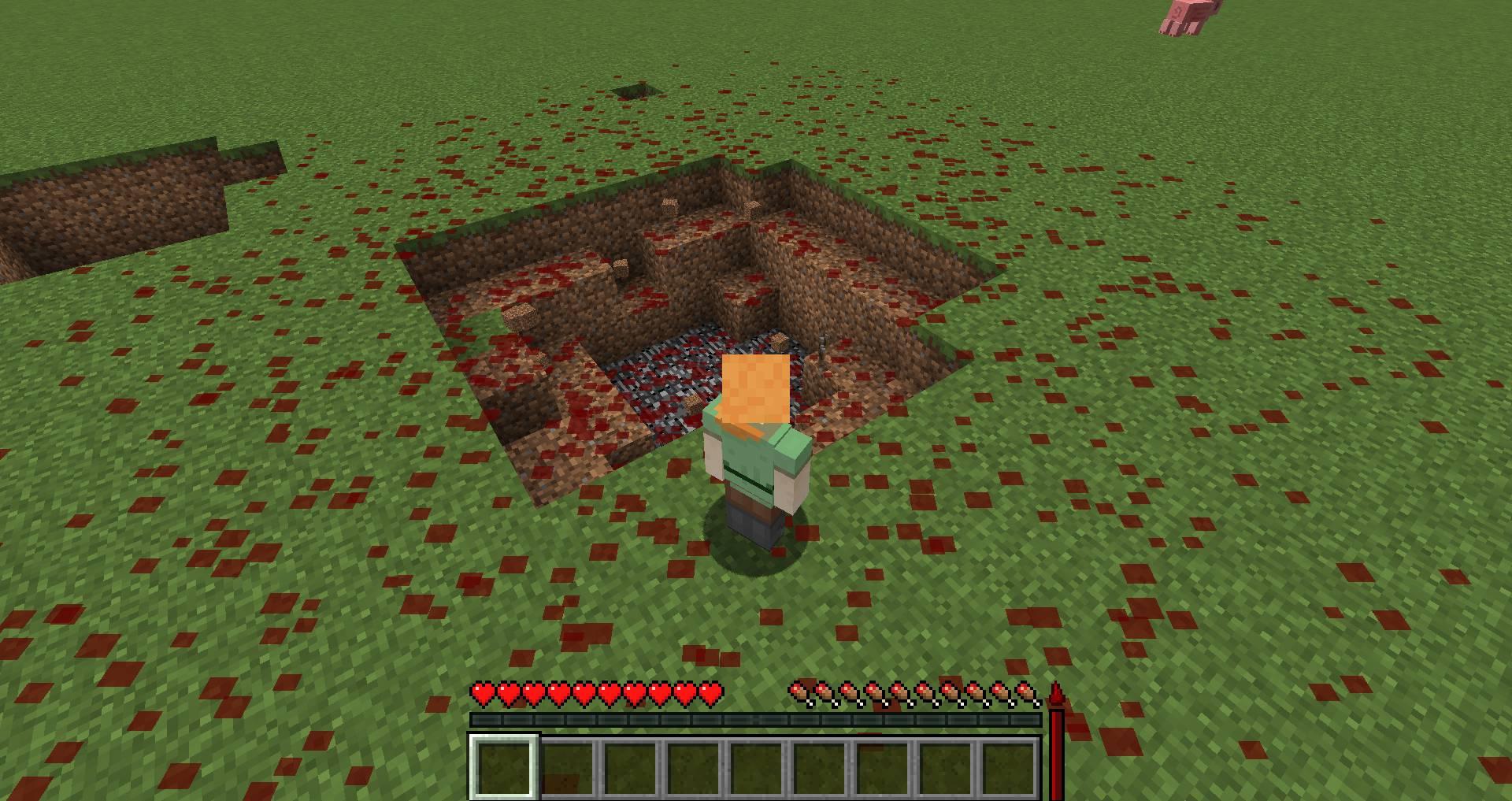 Lightweight Blood Mechanic mod for minecraft 27
