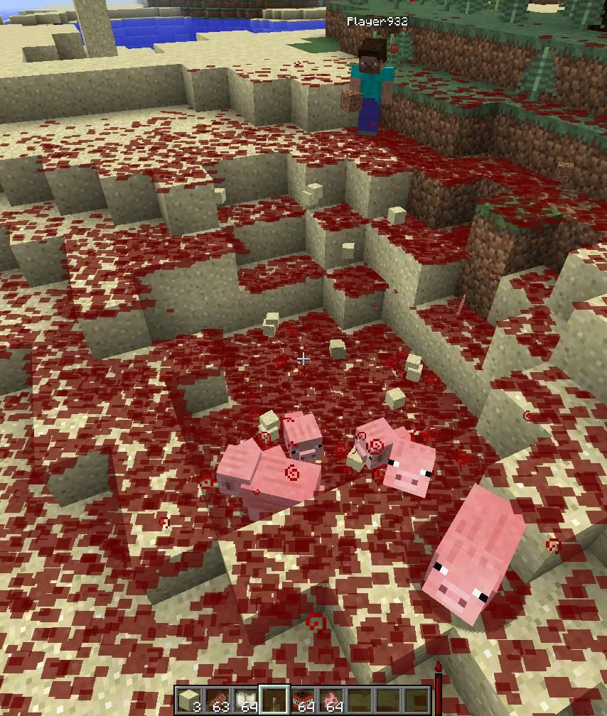 Lightweight Blood Mechanic mod for minecraft 28