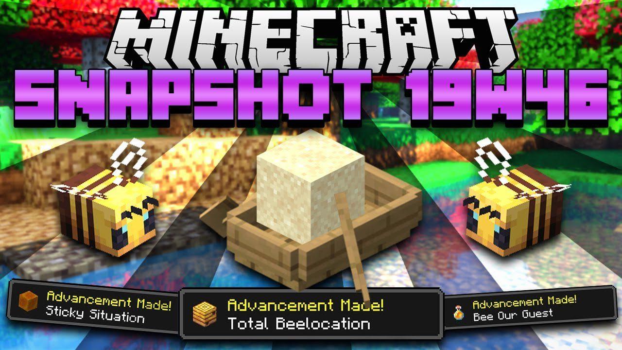Minecraft 1.15 Snapshot 19w46a
