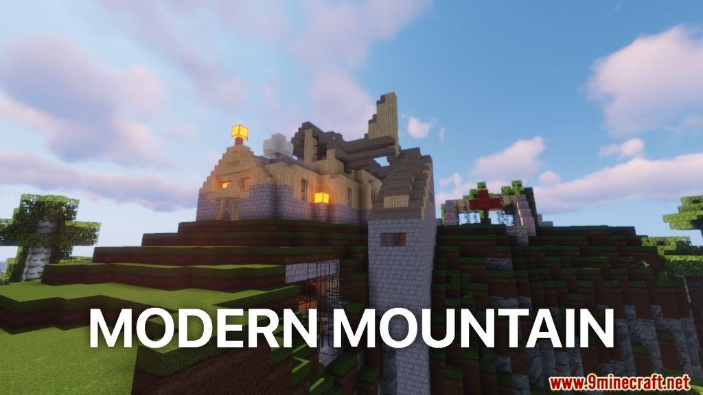 Modern Mountain Map Thumbnail