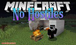 No Hostiles Around Campfire mod for minecraft logo