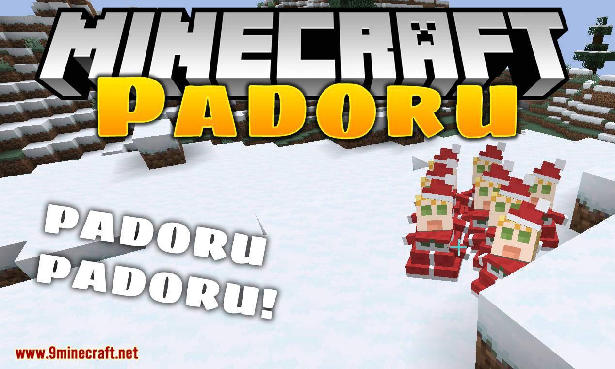 Padoru mod for minecraft logo