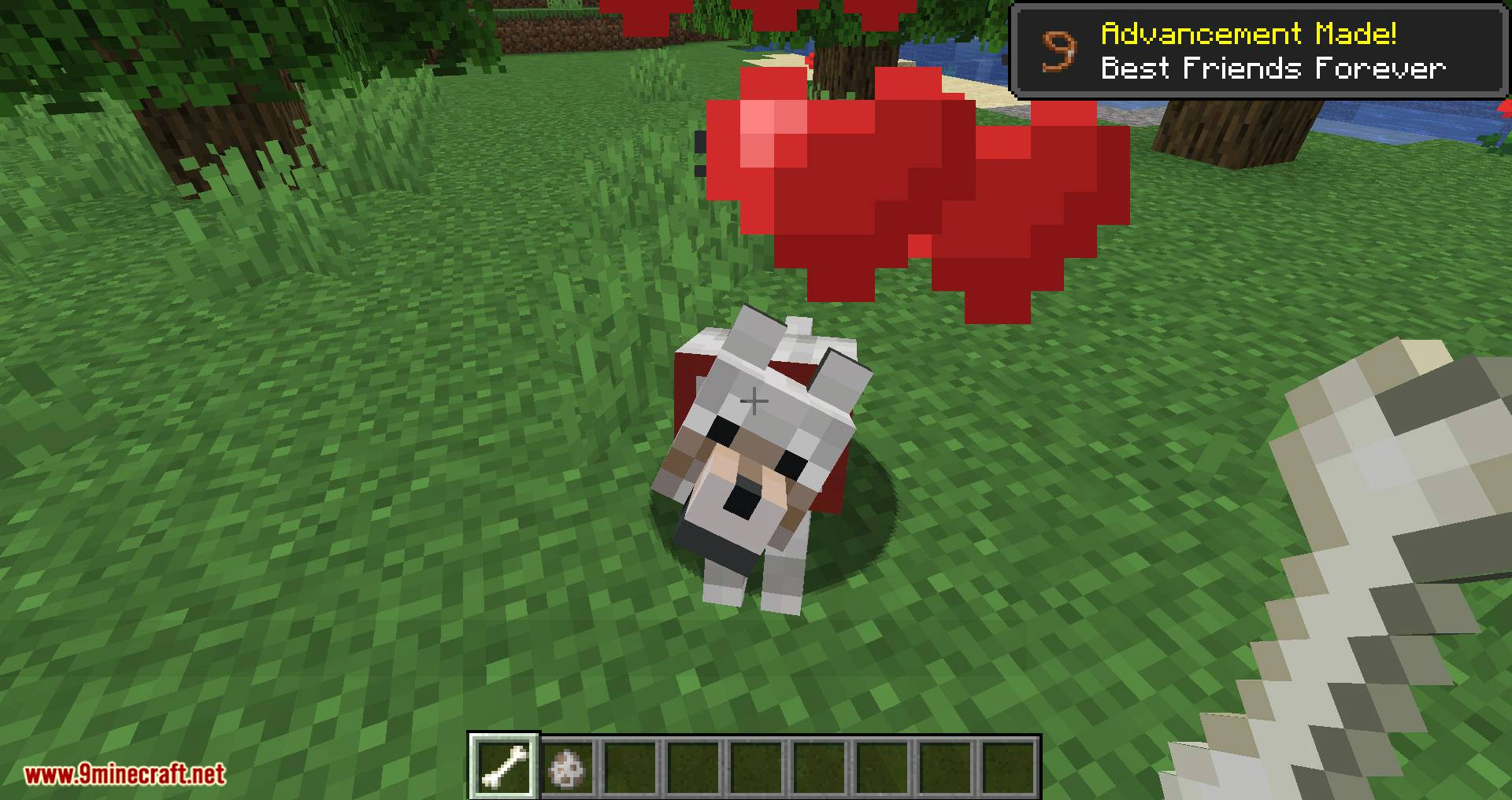 Pet Your Wolf mod for minecraft 03